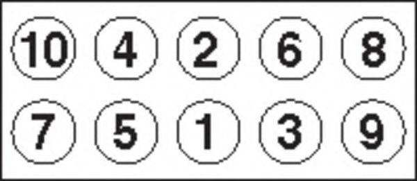 Комплект болтов головки цилидра PAYEN HBS161