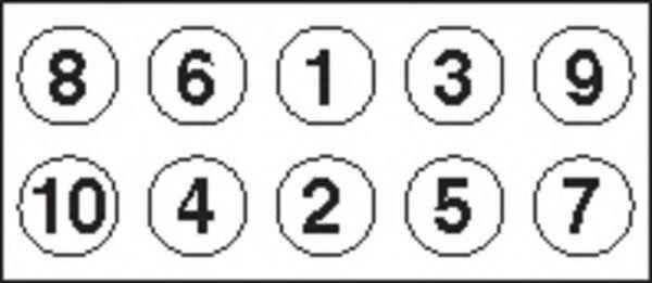 Комплект болтов головки цилидра PAYEN HBS308