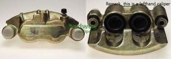 Тормозной суппорт BUDWEG 341565