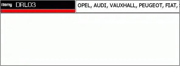 Комплект проводов зажигания DELCO REMY DRL03