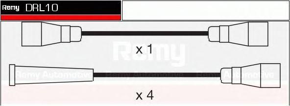 Комплект проводов зажигания DELCO REMY DRL10