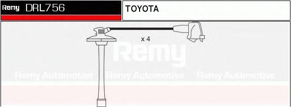 Комплект проводов зажигания DELCO REMY DRL756