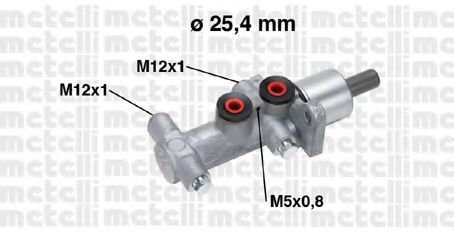 Цилиндр тормозной главный METELLI 05-0767