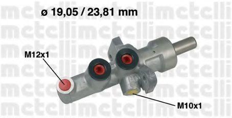 Цилиндр главный тормозной METELLI 050619