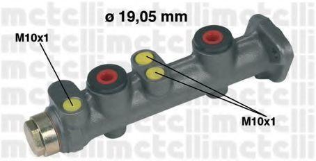 Цилиндр тормозной главный METELLI 05-0028