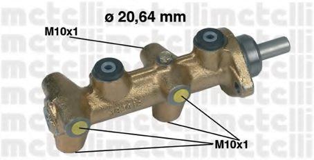 Цилиндр тормозной главный METELLI 050040