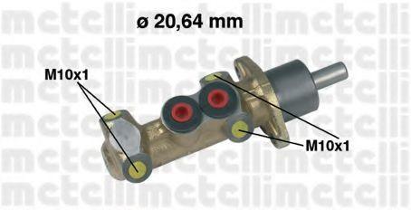Цилиндр тормозной главный METELLI 05-0044