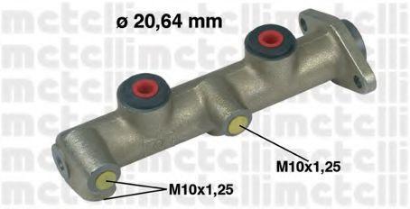 Главный тормозной цилиндр METELLI 050095