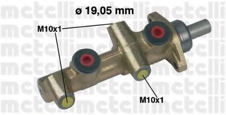 Цилиндр тормозной главный METELLI 05-0138