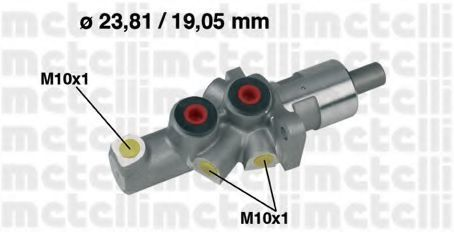 Цилиндр тормозной главный METELLI 05-0177