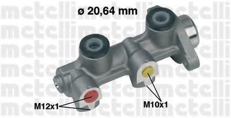 Цилиндр тормозной главный METELLI 05-0190