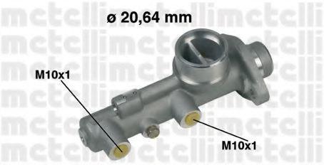 Главный тормозной цилиндр METELLI 050209