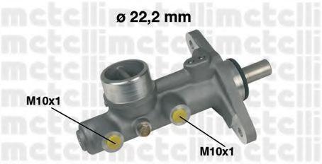 Главный тормозной цилиндр METELLI 050214