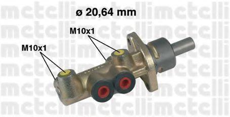 Цилиндр тормозной главный METELLI 05-0221