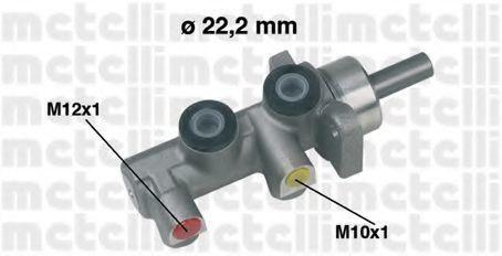Цилиндр тормозной главный METELLI 05-0229