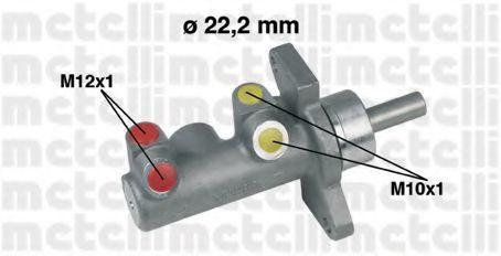 Цилиндр тормозной главный METELLI 05-0230