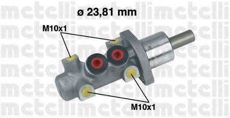 Цилиндр тормозной главный METELLI 05-0247