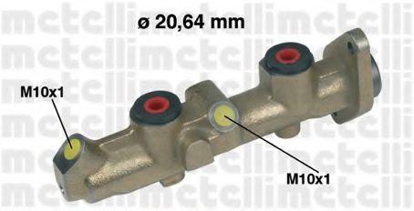 Цилиндр тормозной главный METELLI 050251