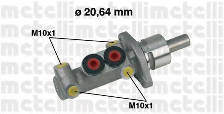 Цилиндр тормозной METELLI 05-0277