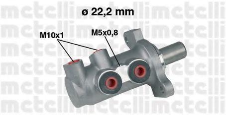 Цилиндр тормозной главный METELLI 05-0294