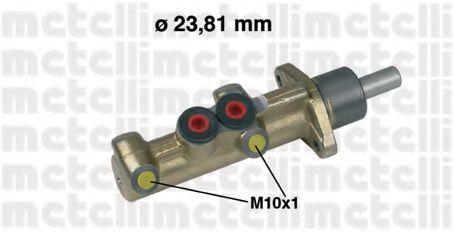 Цилиндр тормозной главный METELLI 050298