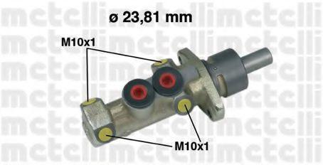 Цилиндр тормозной главный METELLI 05-0299
