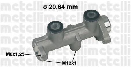 Цилиндр тормозной главный METELLI 050307