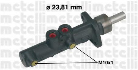 Цилиндр тормозной главный METELLI 05-0308