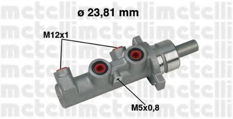 Цилиндр тормозной главный METELLI 05-0317
