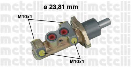 Цилиндр главный тормозной METELLI 050325