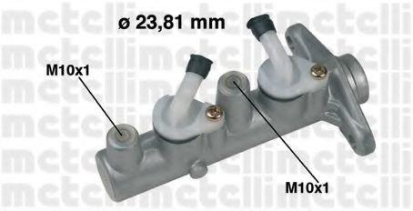 Цилиндр тормозной главный METELLI 05-0337
