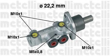 Цилиндр тормозной главный METELLI 05-0353