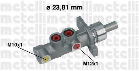 Цилиндр тормозной главный METELLI 050358