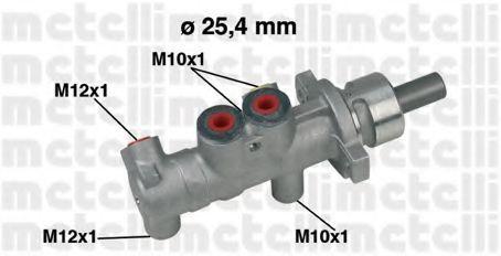 Цилиндр тормозной главный METELLI 050415