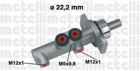 Цилиндр тормозной главный METELLI 05-0423
