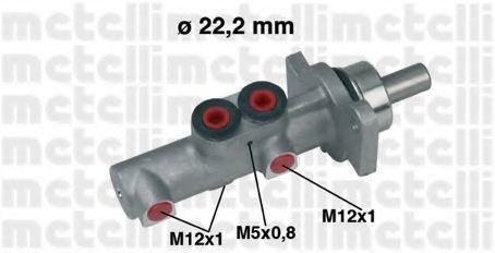 Цилиндр тормозной главный METELLI 05-0437