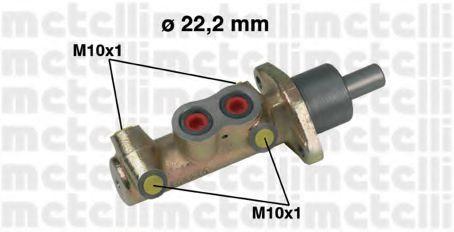 Цилиндр тормозной главный METELLI 050442