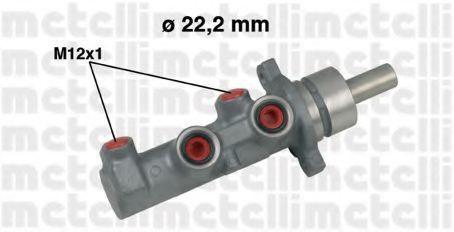 Главный тормозной цилиндр METELLI 050479