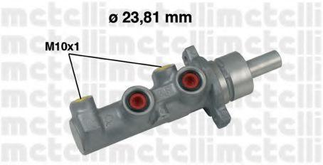 Цилиндр тормозной главный METELLI 05-0529