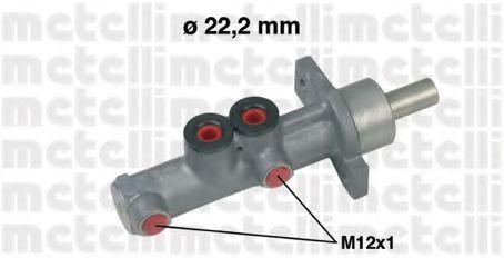 Цилиндр тормозной главный METELLI 05-0597