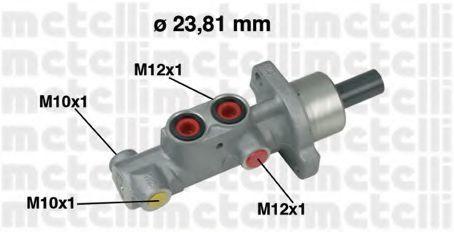 Цилиндр тормозной главный METELLI 05-0631