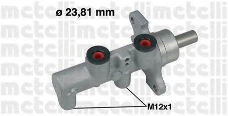 Цилиндр тормозной главный METELLI 05-0568