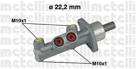 Цилиндр тормозной главный METELLI 050637