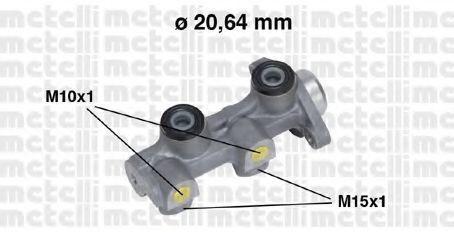 Цилиндр тормозной главный METELLI 05-0507