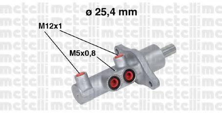 Цилиндр тормозной главный METELLI 05-0543