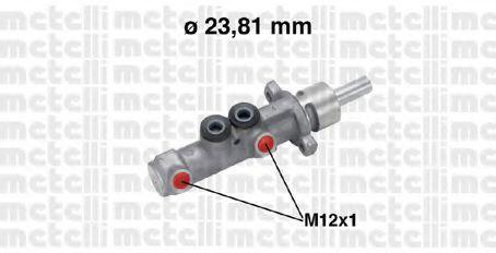 Цилиндр тормозной главный METELLI 050572