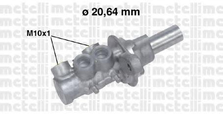 Цилиндр тормозной главный METELLI 050691