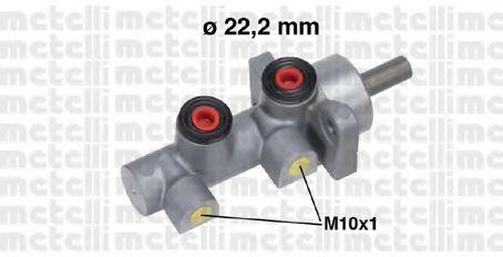 Главный тормозной цилиндр METELLI 050707