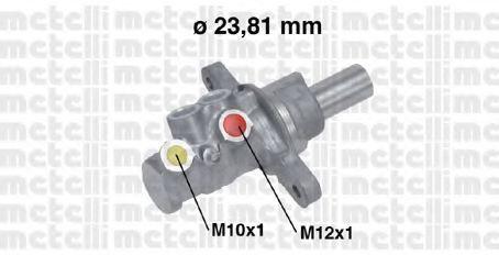 Цилиндр главный тормозной METELLI 050724