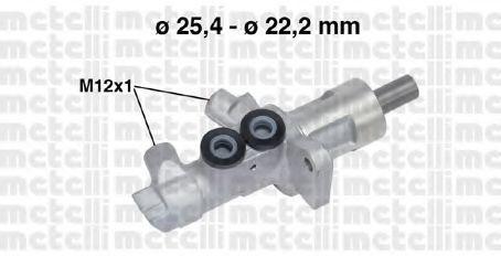 Главный тормозной цилиндр METELLI 050744